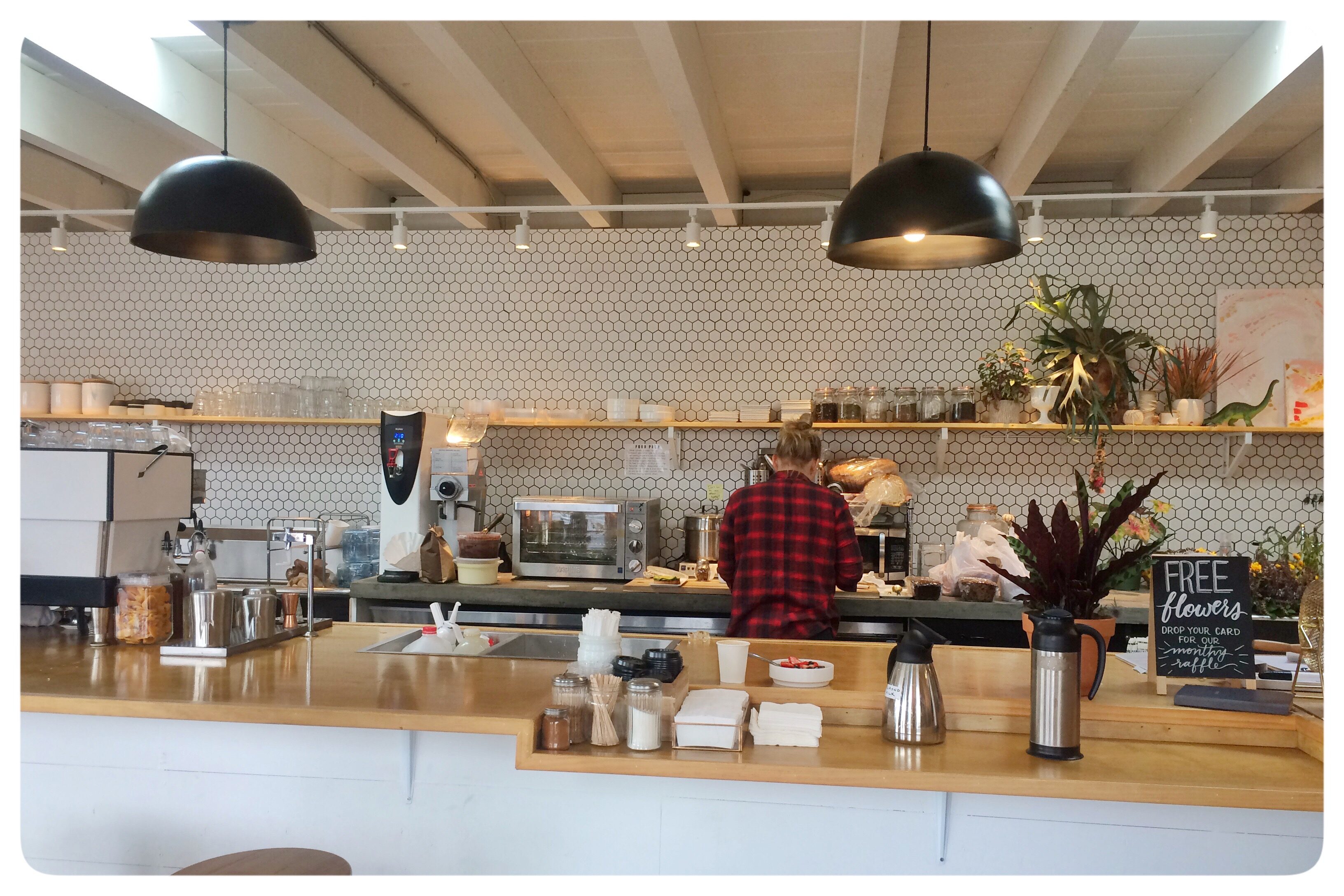 communal coffee is an adorable cafe meets plant shop in north park of san diego ca i initially saw the big painted letters coffee flowers on the