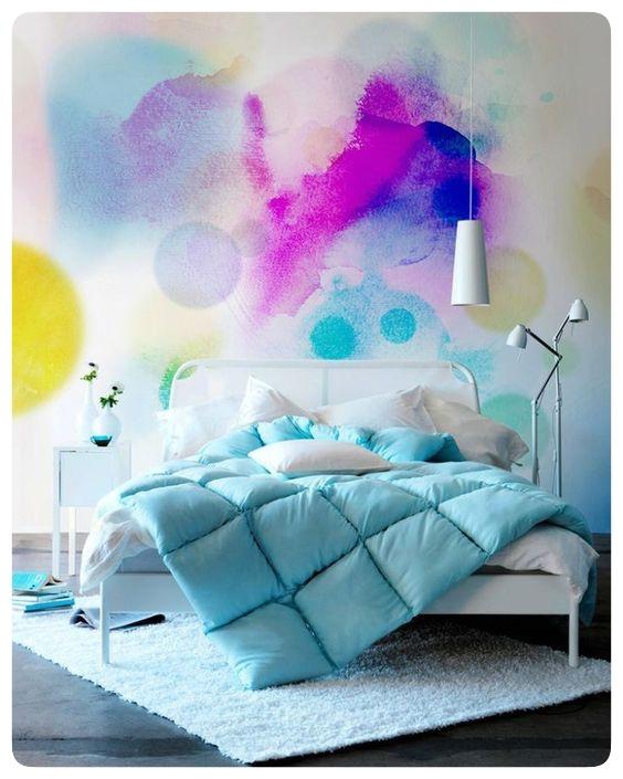 Watercolor Walls Design Amp Steen